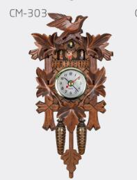 Vintage Home Decorative Bird Wall Clock