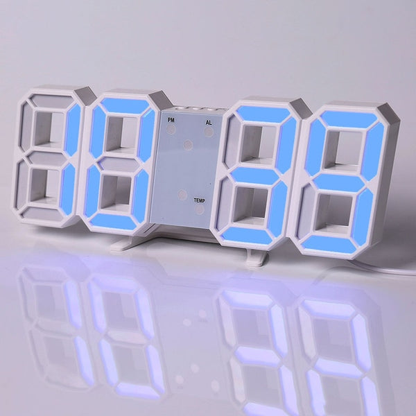 Led Digital Wall Clock Modern Design Watch Clock