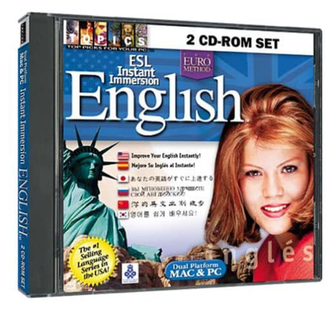 ESL Instant Immersion English 2 CD-ROM Set (Jewel Case)