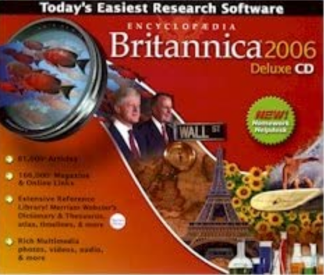 Encyclopædia Britannica 2006 Deluxe - 3 CDs (Jewel Case)