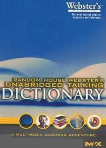 Random House Webster's Unabridged Talking Dictionary (PC)