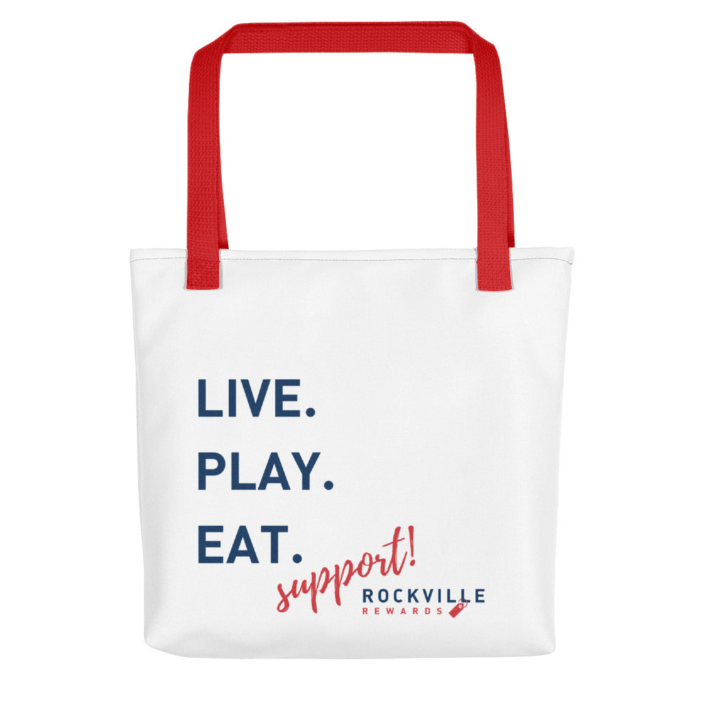Support Rockville Tote Bag