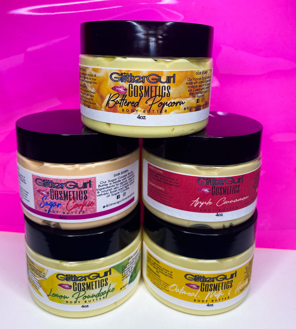4oz Handmade Body Butters