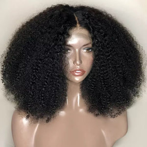 13X4 Kinky Curly Lace Front Wig