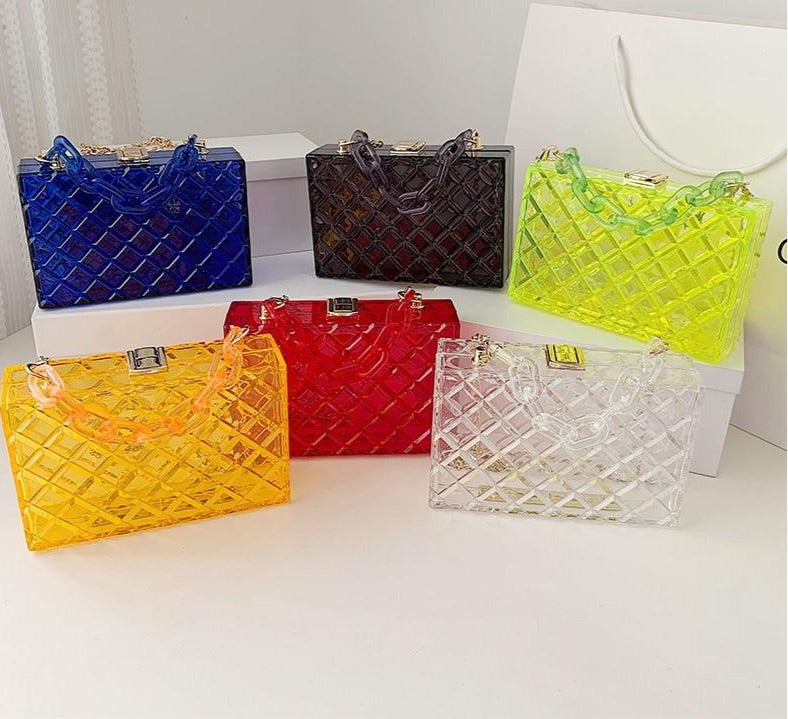 Acrylic Transparent Box Purse