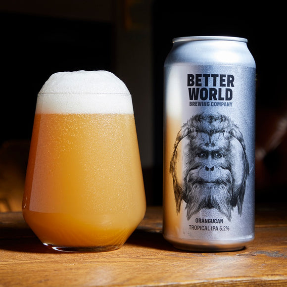 Better World Brewing - Orangucan - Tropical Pale Ale - 5.2%ABV - 440ml Can