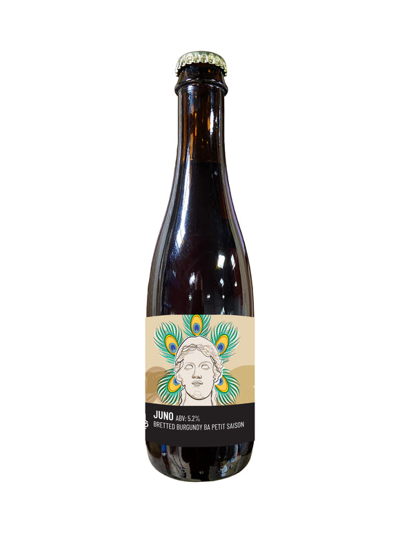 Time And Tide - Juno - Farmhouse Ale - 5.2%ABV - 375ml Glass Bottle
