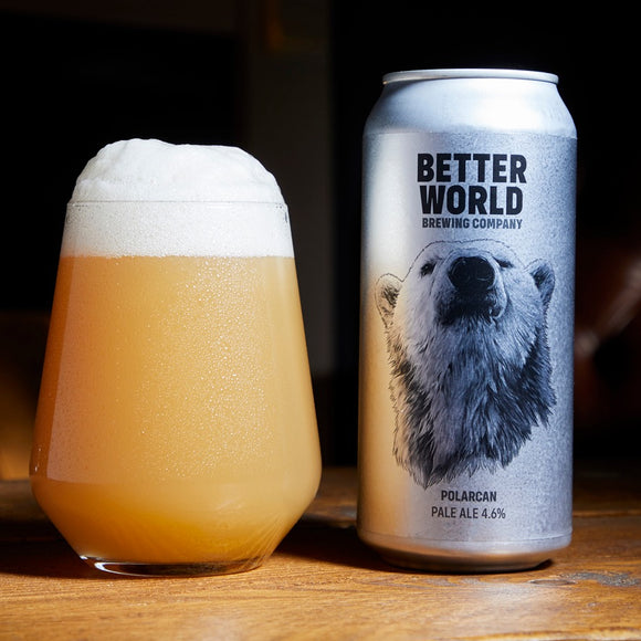 Better World Brewing - Polarcan - Pale Ale - 4.6%ABV - 440ml Can