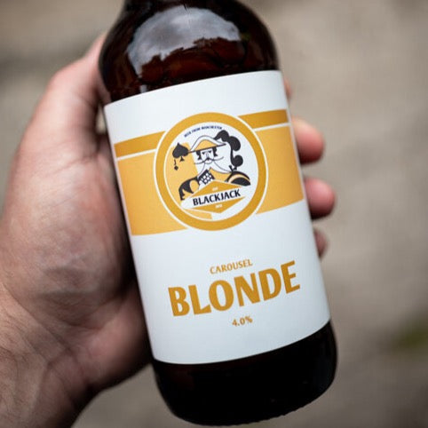 Blackjack Brewery - Carousel Blonde - 4.0%ABV - 500ml Glass Bottle