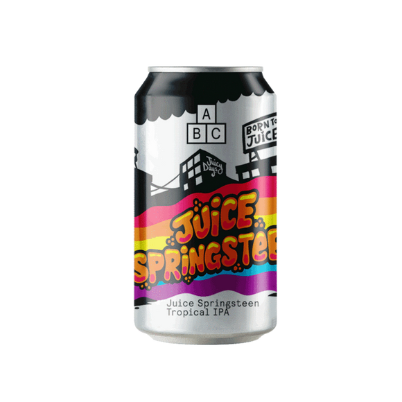 Alphabet Brewing - Juice Springsteen - Tropical IPA - 4.5%ABV - 440ml Can