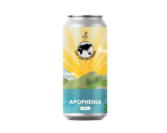 Lost and Grounded - Apophenia - Tripel - 8.8%ABV - 440ml Can