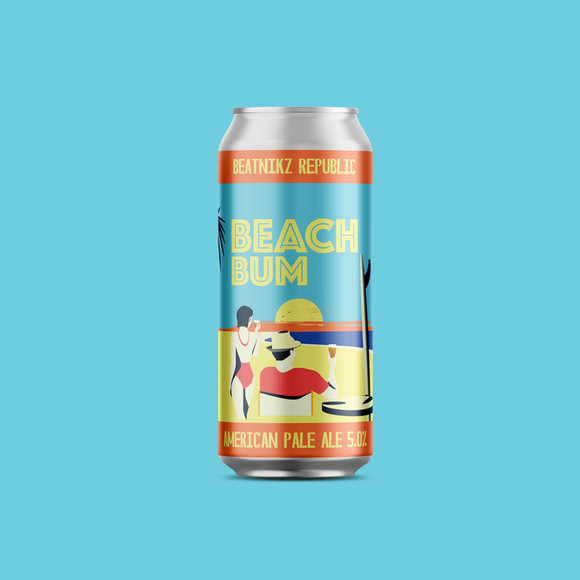 Beatnikz Republic - Beach Bum - APA - 5%ABV - 440ml Can