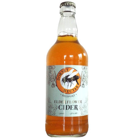 Dorset Nectar - Elderflower Cider - 3.8%ABV - 500ml Glass Bottle