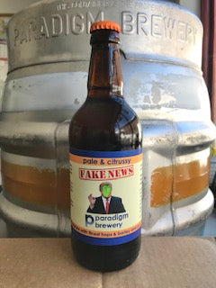 Paradigm - Fake News - Pale Ale Glass Bottle - 4.3% ABV