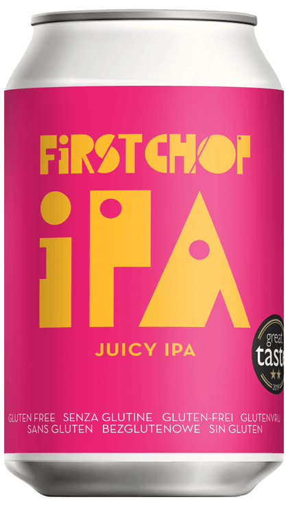 First Chop - IPA - Juicy IPA - 5%ABV - 330ml Can
