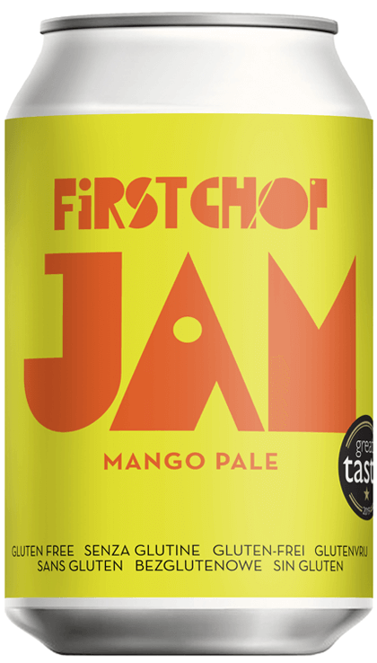First Chop - Jam - Mango Pale - 4%ABV - 330ml Can