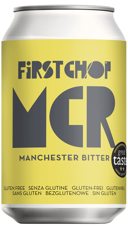 First Chop - MCR - Modern Manchester Bitter - 4.4%ABV - 330ml Can