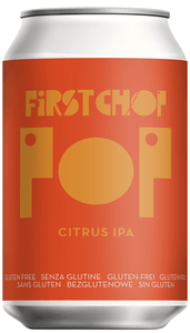 First Chop - Pop - Citrus IPA - 5.4%ABV - 330ml Can