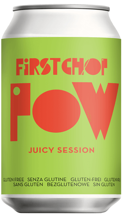 First Chop - Pow - Juicy Session - 4.1%ABV - 330ml Can