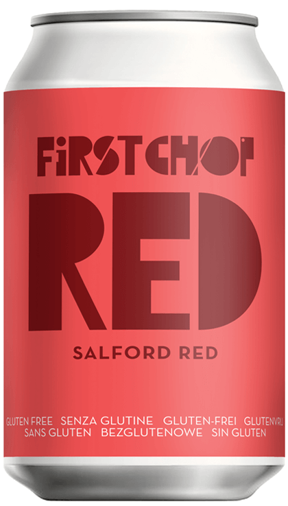 First Chop - Red - Salford Red - 4.6%ABV - 330ml Can