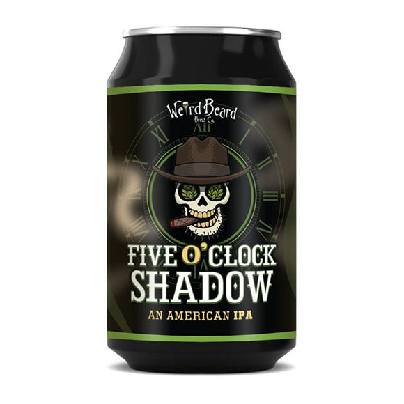 Weird Beard - Five O' Clock Shadow - American IPA - 330ml can - 7%ABV