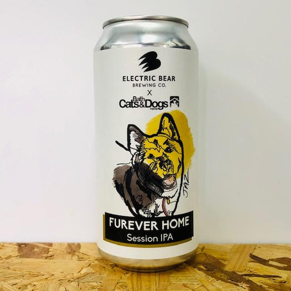 Electric Bear - FURever Home - Session IPA - 5% ABV - 440ml Can