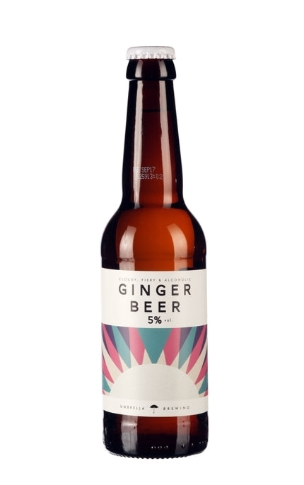 Umbrella Brewing - Ginger Beer - 330ml Bottle - 5% ABV