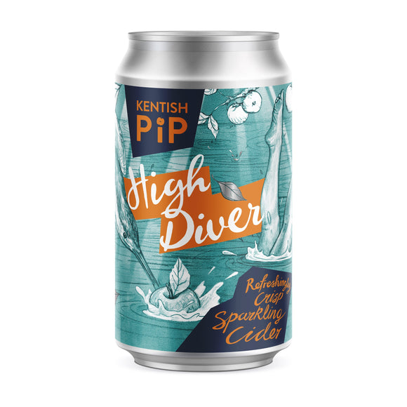 Kentish Pip - High Diver Cider - 4.8%ABV - 330ml Can