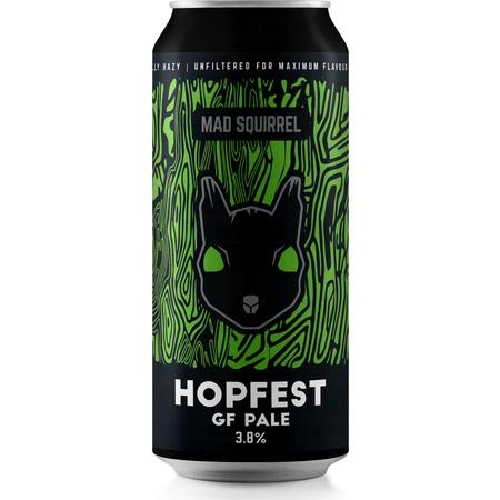 Mad Squirrel - Hopfest Gluten Free pale - 440ml can - 3.8% ABV