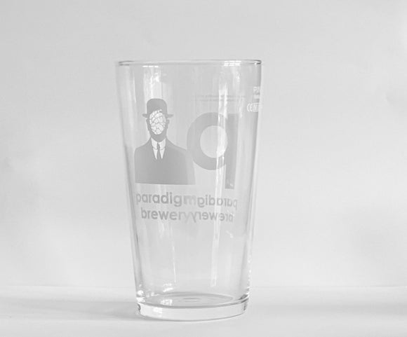 Paradigm - Pint Glass