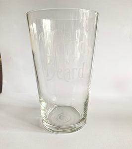Weird Beard - Pint Glass