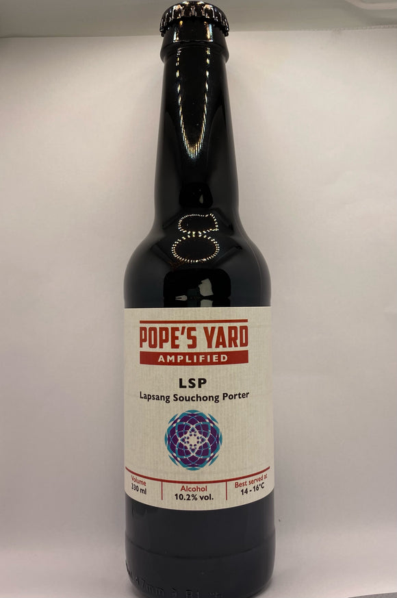 Pope's Yard - LSP - Lapsang Souchong Porter - 10.2%ABV - 330ml Glass Bottle