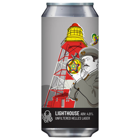 Time and Tide - Lighthouse - Lager - 4.9%ABV - 440ml Can