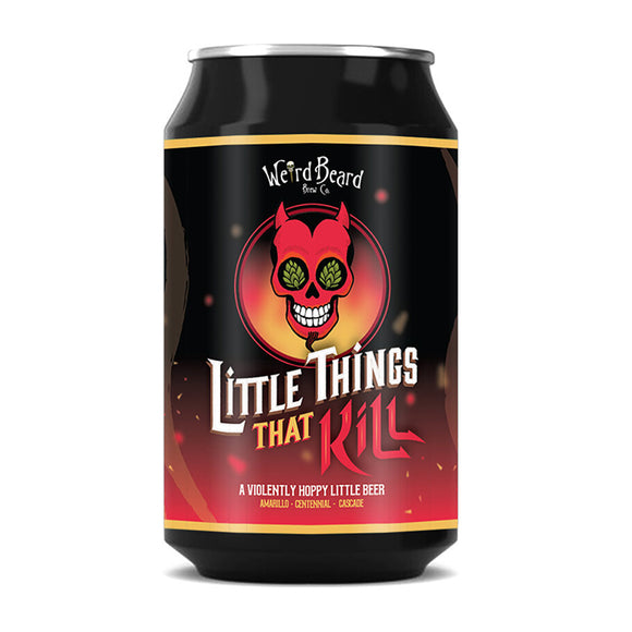 Weird Beard - Little Things That Kill - Session IPA - 330ml can - 3.9%ABV
