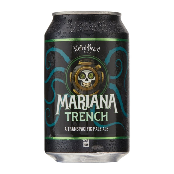 Weird Beard - Mariana Trench - Pale Ale - 330ml can - 5.3%ABV