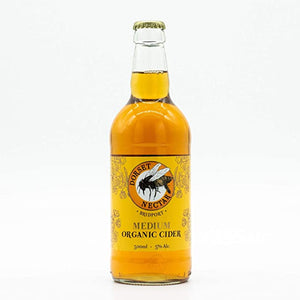 Dorset Nectar - Medium Organic Cider - 5%ABV - 500ml Glass Bottle