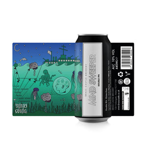 Brass Castle - Mind Sweeper - DIPA - 10%ABV - 440ml Can