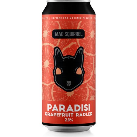 Mad Squirrel - Paradisi Grapefruit Radler - 440ml can - 2.8%ABV