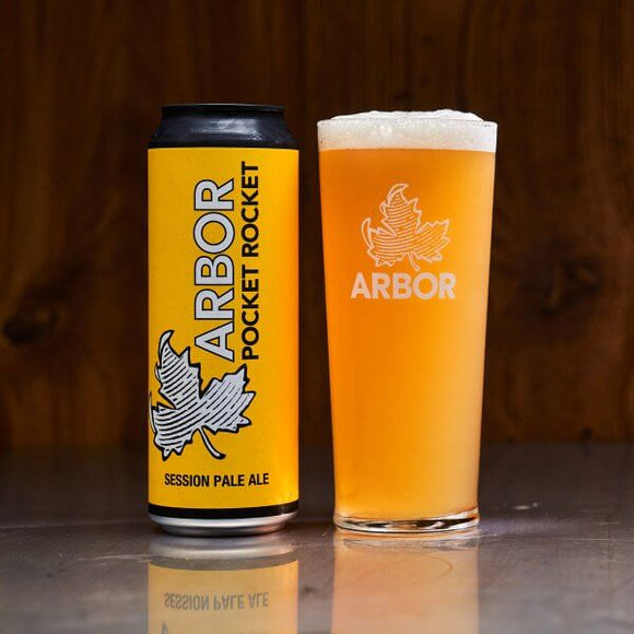 Arbor Ales - Pocket Rocket - Session Pale Ale - 3.9%ABV - 568ml Can
