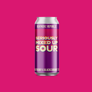 Beatnikz Republic - Seriously Mixed Up Sour - 4.3%ABV - 440ml Can