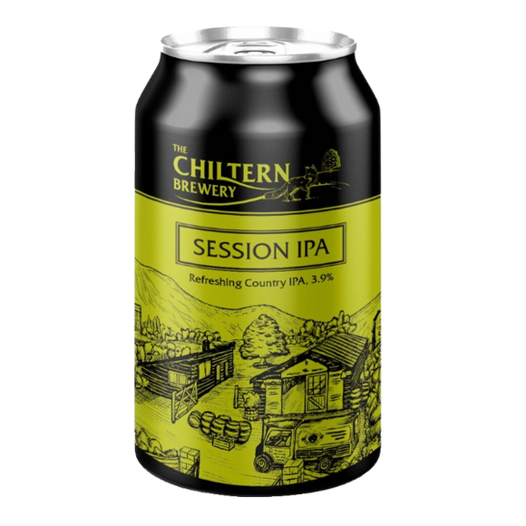 The Chiltern Brewery - Session IPA - 3.9% ABV - 330ml Can
