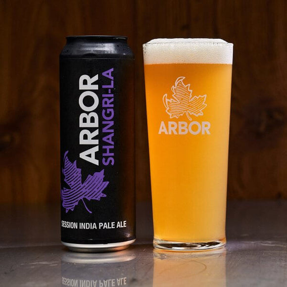 Arbor Ales - Shangri-La - Session IPA - 4.2%ABV - 568ml Can