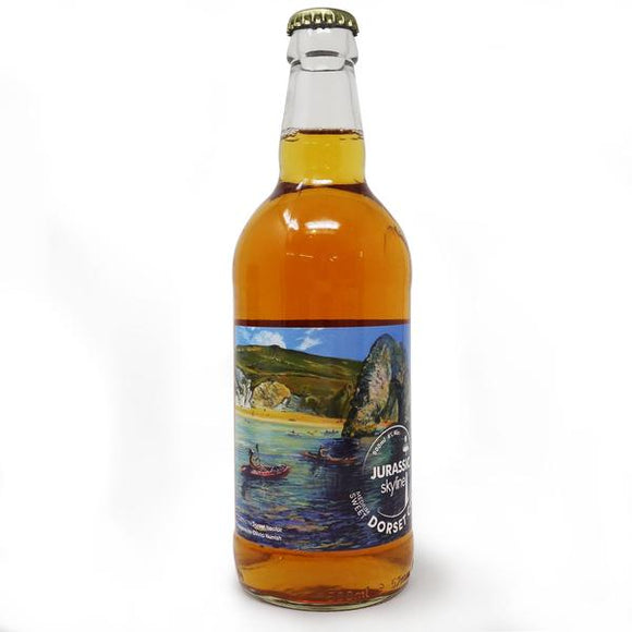 Dorset Nectar - Jurassic Sykline Medium-Sweet Sparkling Cider - 4%ABV - 500ml Glass Bottle