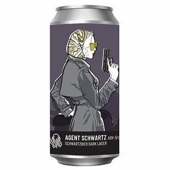 Time and Tide - Agent Schwartz - 5%ABV - 440ml Can