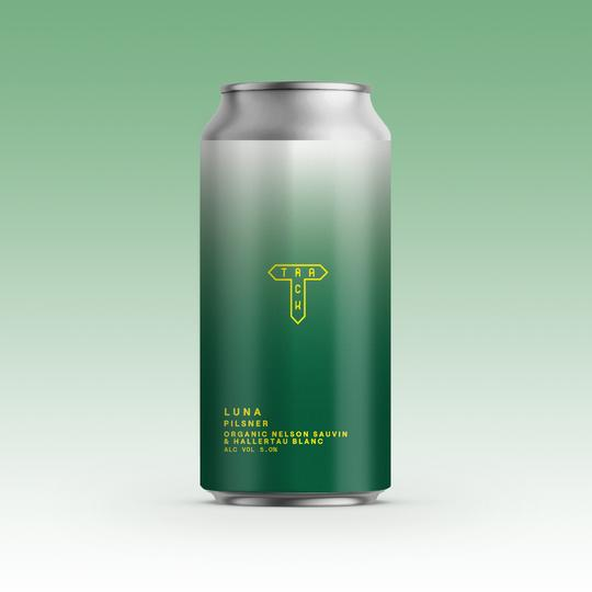 Track Brewing - Luna - Pilsner - 5%ABV - 440ml Can