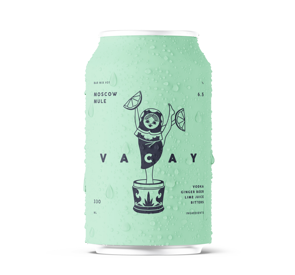 Vacay - Moscow Mule - 6.5%ABV - 330ml Can