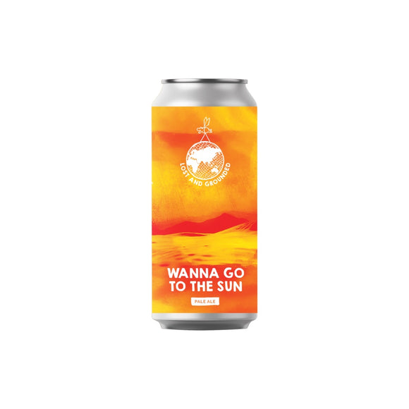Lost and Grounded - Wanna Go To The Sun - Pale Ale - 4.6% ABV - 440ml Can