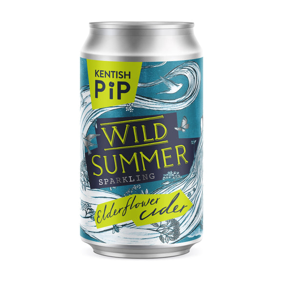 Kentish Pip - Wild Summer Cider - 4%ABV - Can 330ml