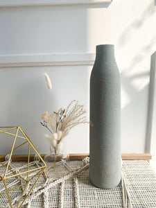 Concrete Sirca - Tall Glass Vase