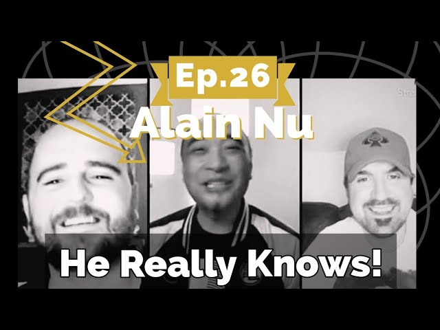 Ep 26 Alain Nu The Man Who Knows | The Deceive Reality Podcast